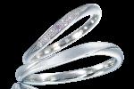 結婚指輪 ピンクダイヤ