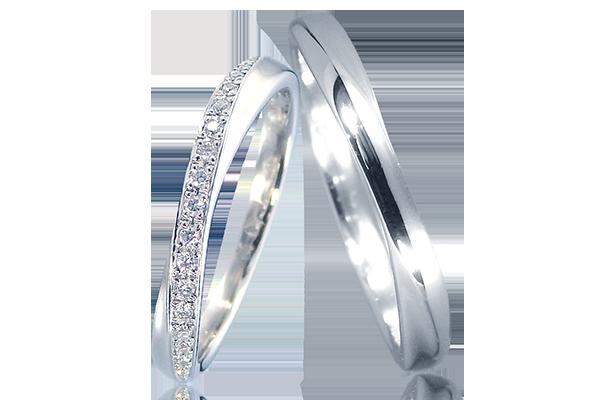 結婚指輪 メレ