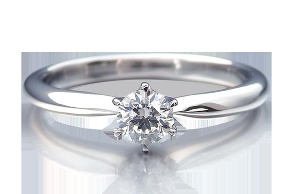 婚約指輪 立爪ダイヤ