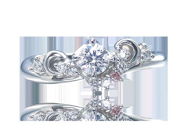 婚約指輪 メレダイヤ