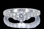 婚約指輪 ハーフエタニティ