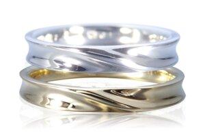 幸せの結婚指輪