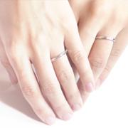 ふたりの結婚指輪が完成